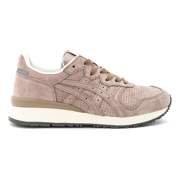 ONITSUKA TIGER BY ASICS Tiger Ally Sneaker - Suede upper with rubber sole. Lace-up front. Padded tongue...