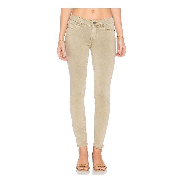 PAIGE Verdugo Ankle - 52% rayon 26% cotton 21% poly 1% spandex. 12 at the knee...