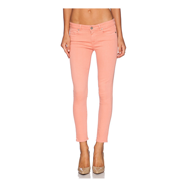 """PAIGE Verdugo ankle - Cotton blend. 13"""""""" in the knee narrows to 10"""""""" at the leg..."""