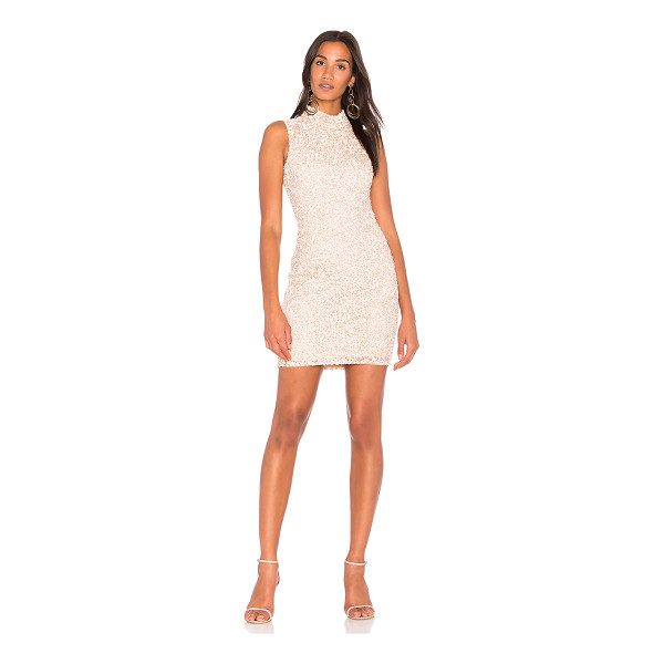 PARKER BLACK Alessandra Dress - Self: 100% nylonLining: 100% poly. Dry clean only. Fully...