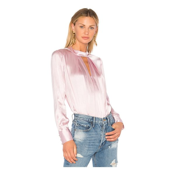 PARKER Eleanor Blouse - Self: 100% silkLining: 100% viscose. Dry clean only. Front...