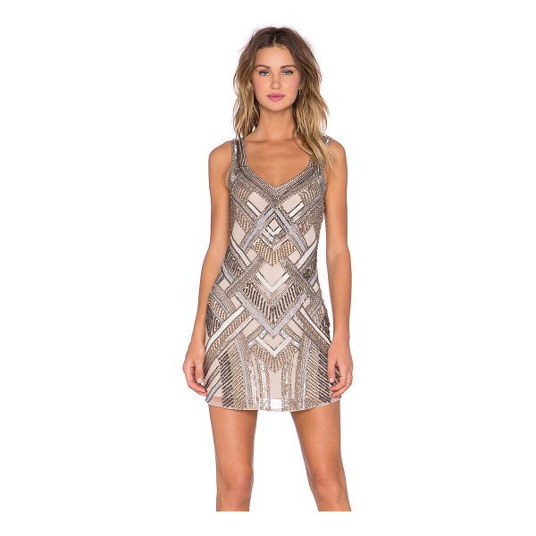 PARKER Flow embellished dress - Self: 100% rayonLining: 100% poly. Dry clean only. Fully...
