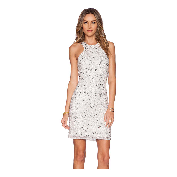 PARKER Mariah sequin dress - Poly blend. Dry clean only. Fully lined. Beaded and...