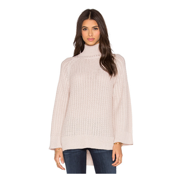 PINK STITCH Celine turtleneck sweater - 70% acrylic 30% wool. Hand wash cold. PINK-WK15. 1562 5001....
