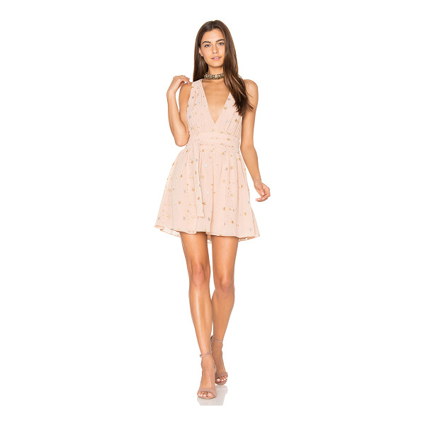 PRIVACY PLEASE Airy Dress - You must be my lucky star. Gathered lightweight fabric with...