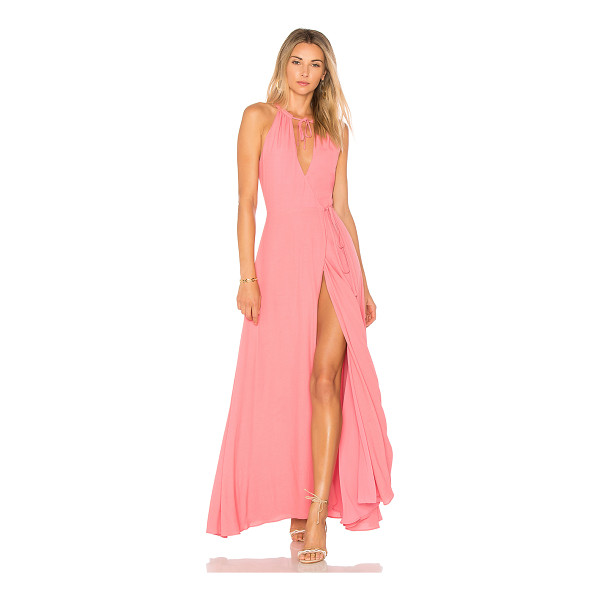 PRIVACY PLEASE Cambio Maxi Dress - Wrapped up and ready to go in the Cambio Maxi Dress by...