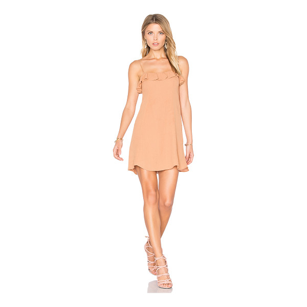 PRIVACY PLEASE Cisco Dress - Who says you can't go nude? Cut from a lightwieght fabric,...