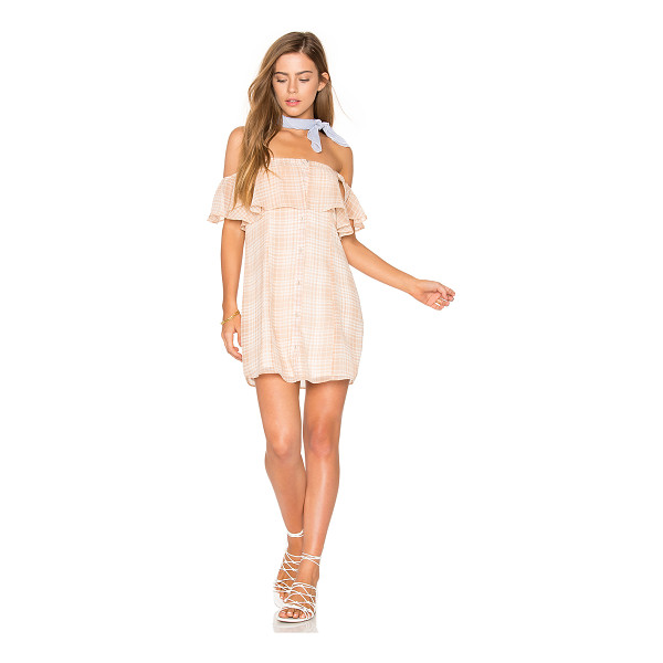 "PRIVACY PLEASE Norval Dress - ""Beach babe breezy and resort ready. Cut from a lightweight..."