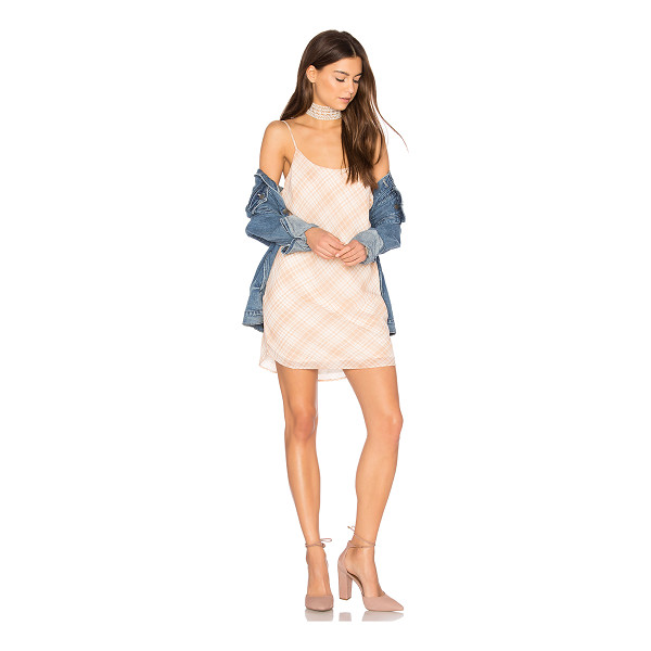 PRIVACY PLEASE Ramsay Dress - Mad about plaid. The Ramsay Dress by Privacy Please is hung...