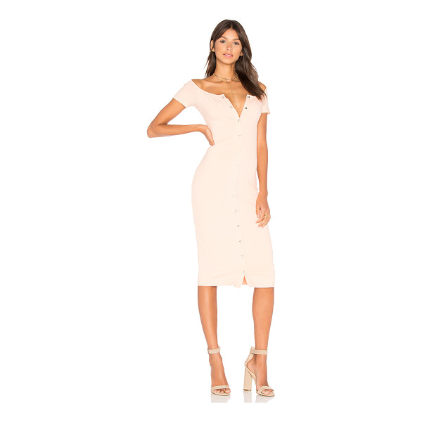 PRIVACY PLEASE Rue Dress - Picture perfect. Cut from soft jersey rib knit fabric, the...