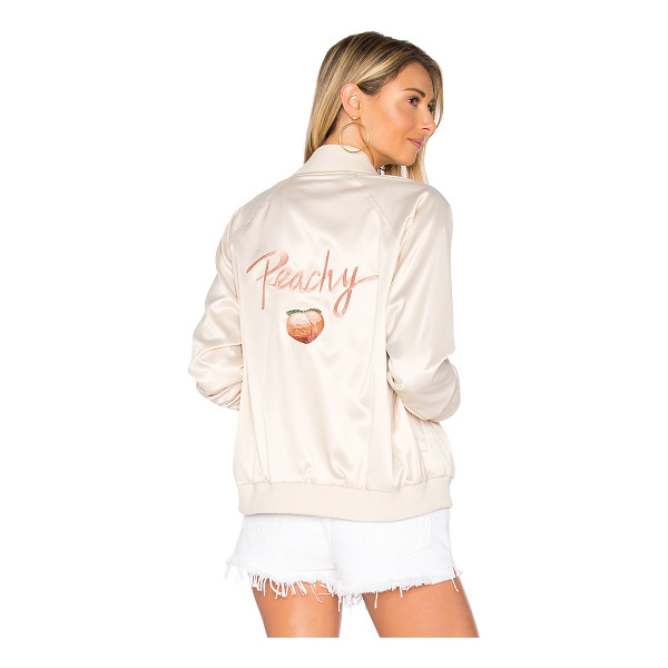 PRIVACY PLEASE x REVOLVE Peachy Bomber - Southern belle babe in the Peachy Bomber by Privacy Please....