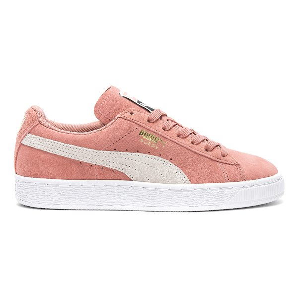 PUMA Suede Classic Sneaker - Suede upper with rubber sole. Lace-up front. PUMA-WZ56....