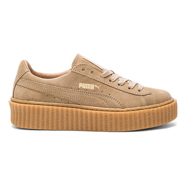 PUMA X rihanna anniversary creepers - Suede upper with rubber sole. Lace-up front. Creeper sole....