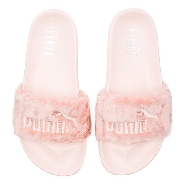 PUMA X rihanna leadcat fenty sandal - Faux fur textile upper with rubber sole. Slip-on styling....