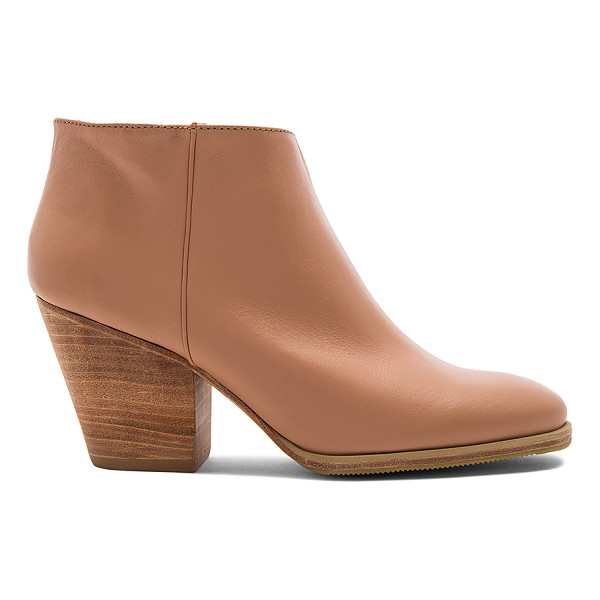RACHEL COMEY Mars Bootie - Leather upper with rubber sole. Elasticized pull on