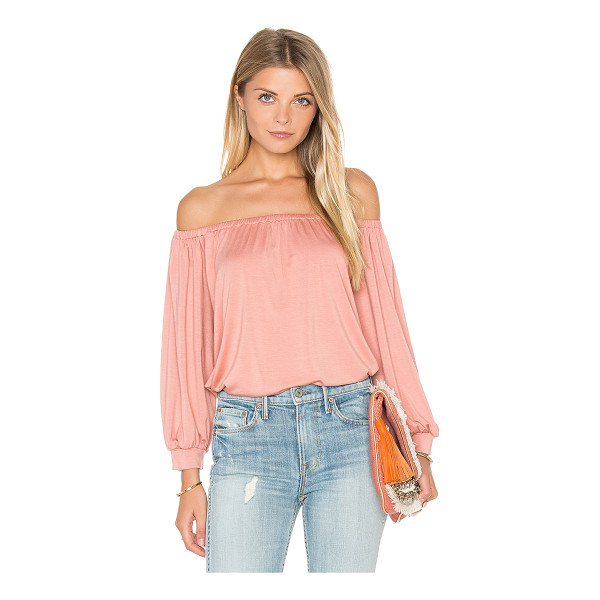 RACHEL PALLY Ayumi Top - 92% modal 8% spandex. Dry clean recommended. Elasticized...