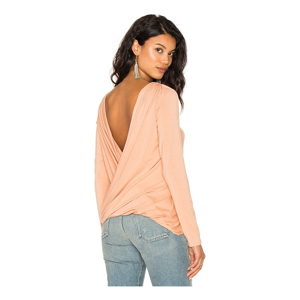 RACHEL PALLY Castaway Top - 92% modal 8% spandex. Dry clean recommended. Draped...