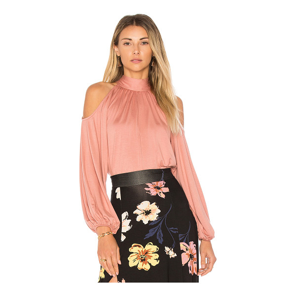 RACHEL PALLY Dieda Top - 92% modal 8% spandex. Dry clean recommended. Cold shoulder...