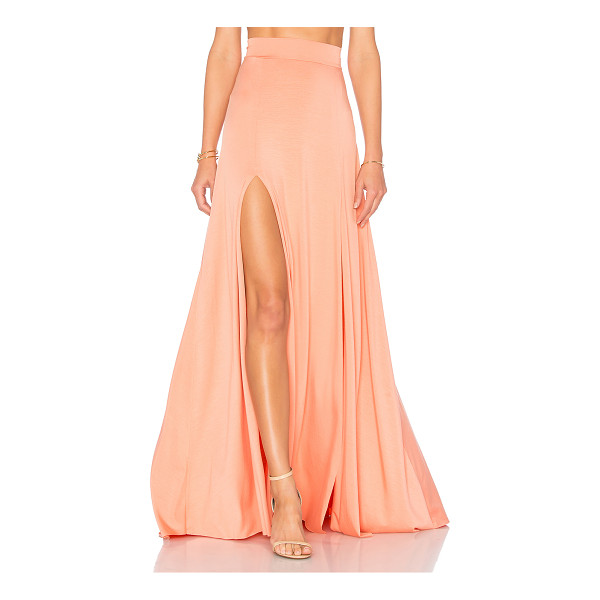 RACHEL PALLY Josephine Maxi Skirt - 92% modal 8% spandex. Dry clean only. Unlined. Elasticized...