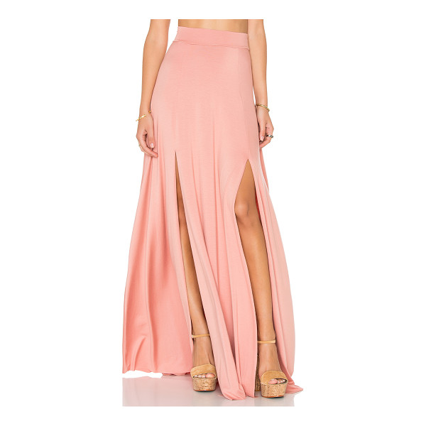 RACHEL PALLY Josephine Maxi Skirt - 92% modal 8% spandex. Dry clean recommended. Unlined. Front...