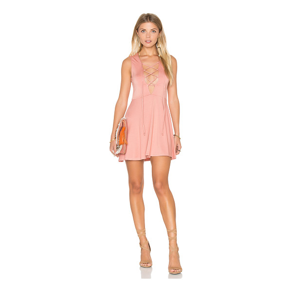 RACHEL PALLY Kaili Mini Dress - 92% modal 8% spandex. Dry clean recommended. Unlined. Front...