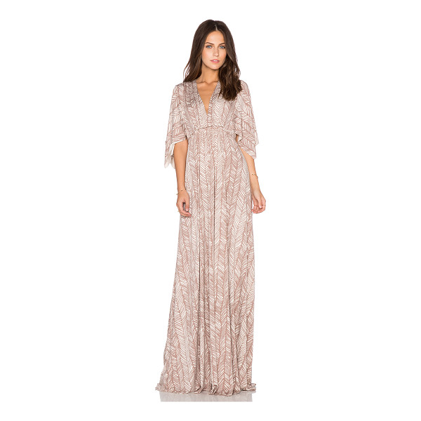 RACHEL PALLY Long caftan dress - 92% modal 8% spandex. Dry clean recommended. Unlined. Self...