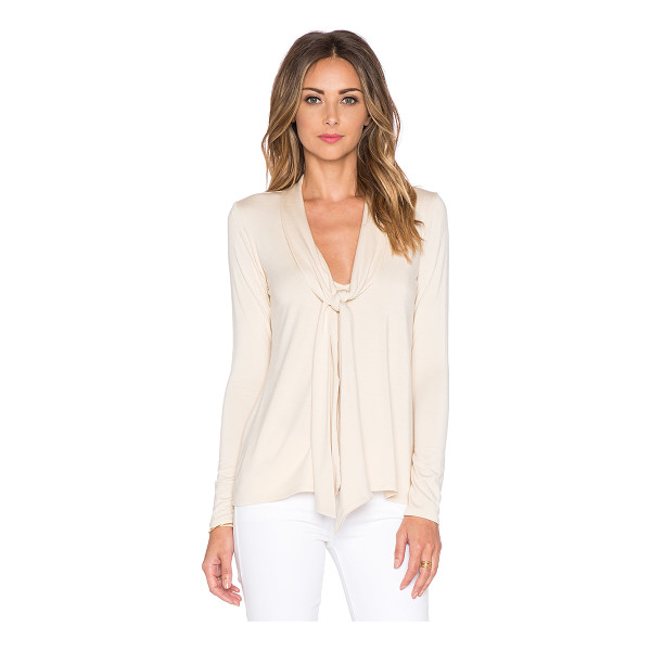 RACHEL PALLY Mickey top - 92% modal 8% spandex. Dry clean recommended. Neck tie...