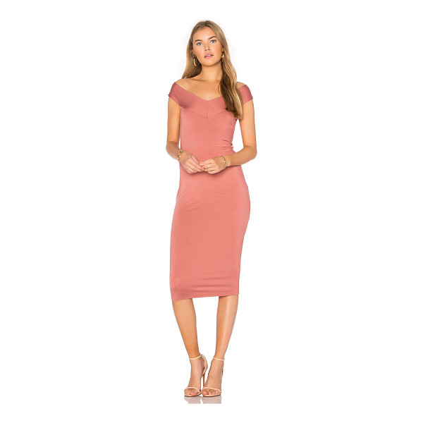 RACHEL PALLY Sammie Dress - 92% modal 8% spandex. Dry clean recommended. Unlined....
