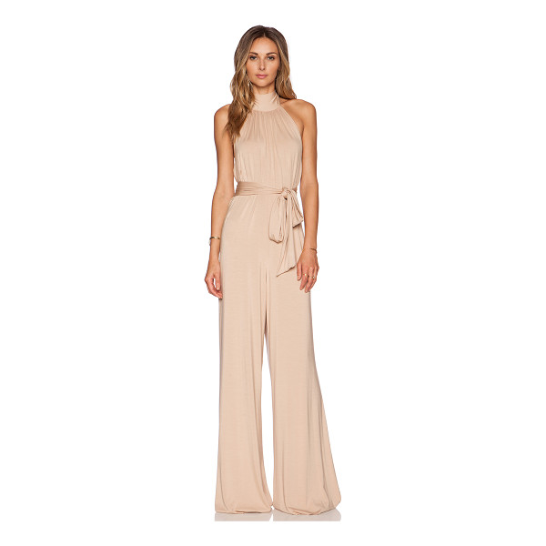 RACHEL PALLY Shaun jumpsuit - 92% modal 8% spandex. Dry clean recommended. Halter strap...
