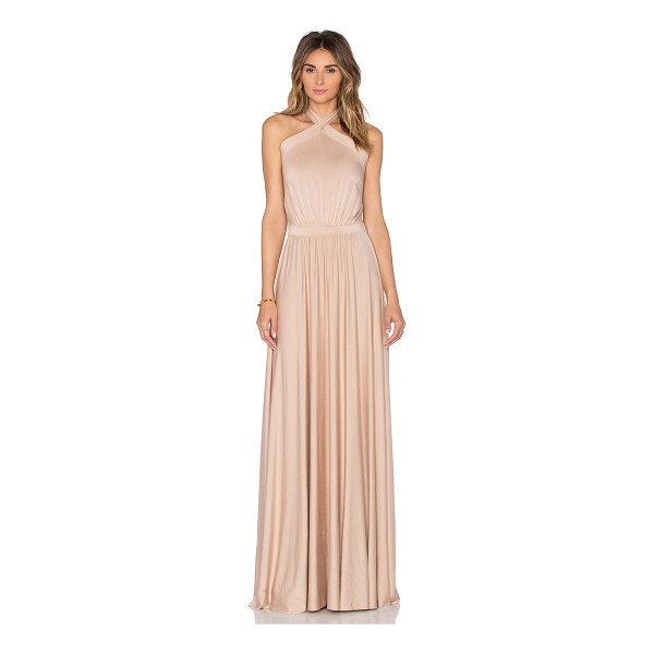 RACHEL PALLY Teana Maxi Dress - 92% modal 8% spandex. Dry clean recommended. Unlined....