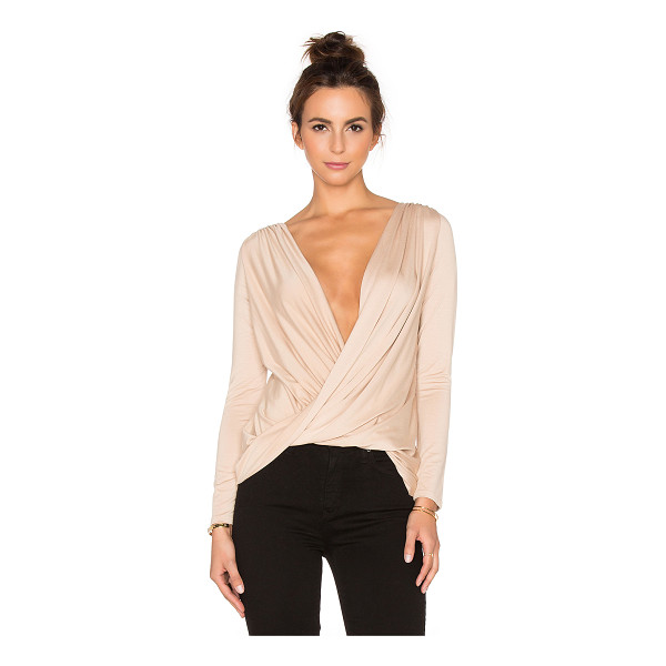 RACHEL PALLY X revolve castaway reversible top - 92% modal 8% spandex. Dry clean recommended. Ruched...