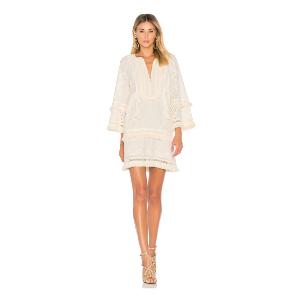 RACHEL ZOE Abigail Dress - 100% cotton. Dry clean only. Fully lined. Front button and...