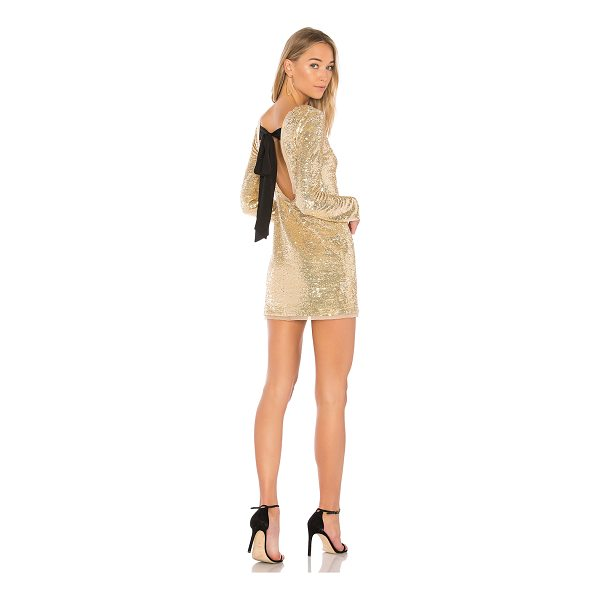 RACHEL ZOE Racko Sequin Mini Dress - Self: 95% rayon 5% spandexContrast & Lining: 100% poly. Dry...