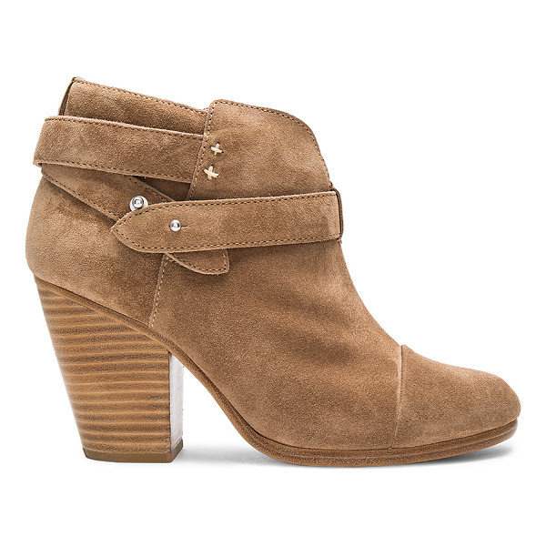 RAG & BONE Harrow Boot - When suede booties get a luxe advantage. The Harrow Boot by...