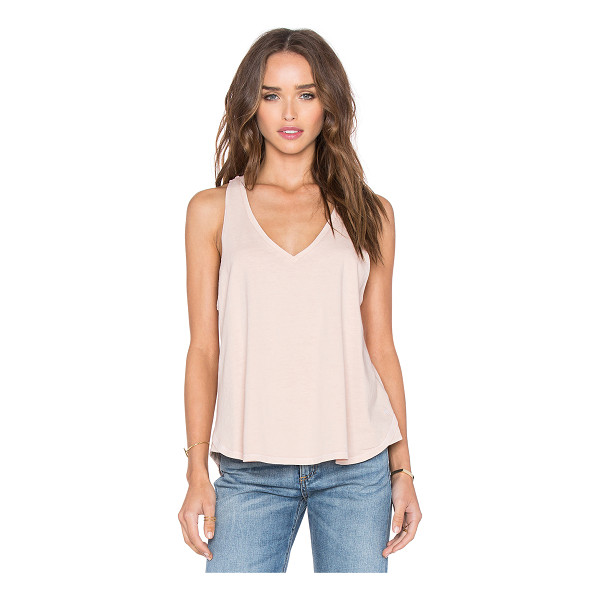 RAG & BONE Audrey v neck tank - 100% cotton. RAGA-WS260. W262C17JD. Rag & Bone was born in...