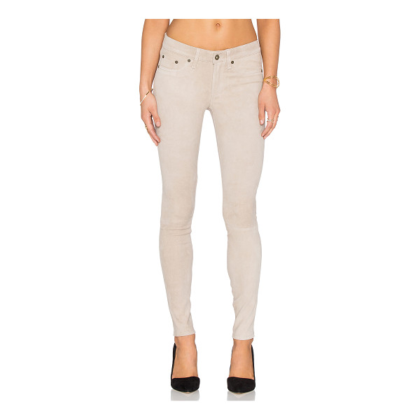 RAG & BONE Skinny - Self: 100% lamb leatherLining: 97% cotton 3% elastane....