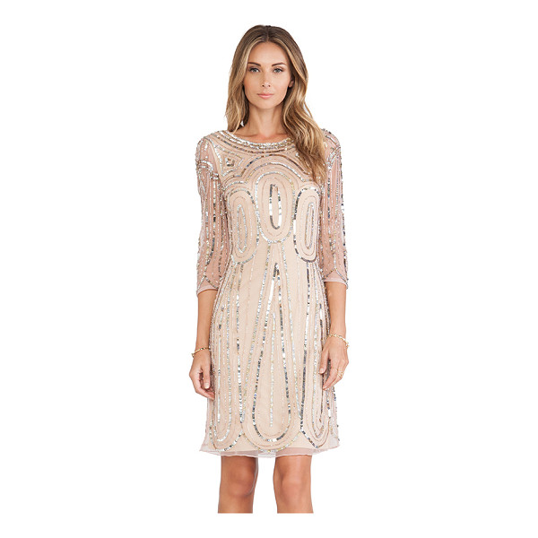 RAGA Long sleeve sequin dress - Nylon blend. Fully lined. Sequined throughout. Hidden...