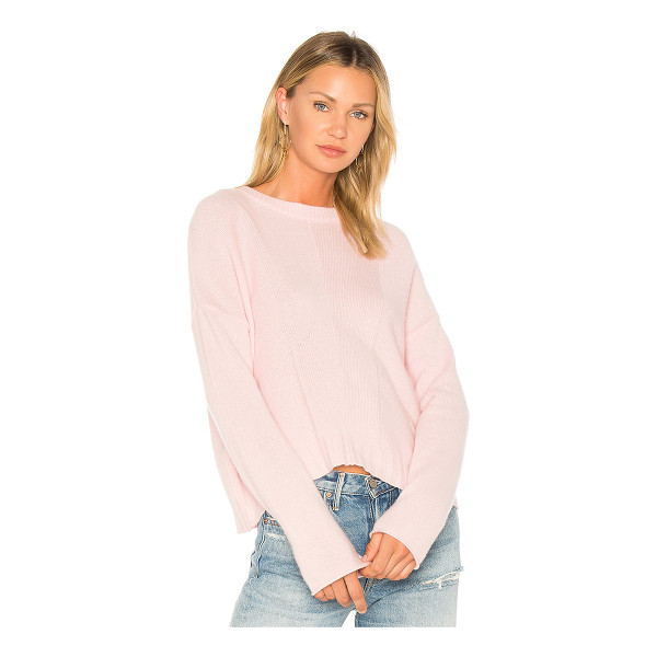 RAILS Joanna Sweater - 70% wool 30% cashmere. Dry clean only. Ribbed trim. Knit...