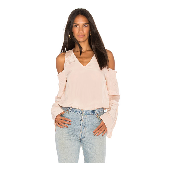 RAMY BROOK Faretta Top - Self: 100% polyCombo: 100% silk. Dry clean only. Smocked...