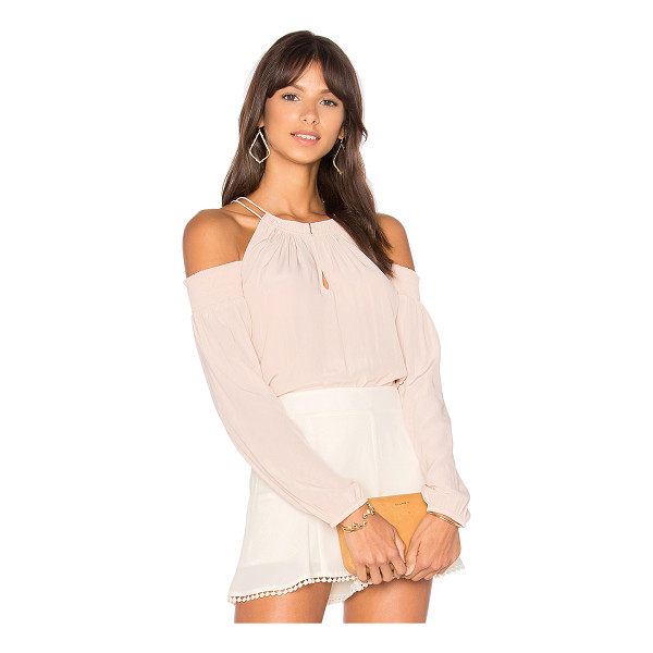 RAMY BROOK Heidi Top - 100% silk. Dry clean only. Front keyhole with hook and eye...