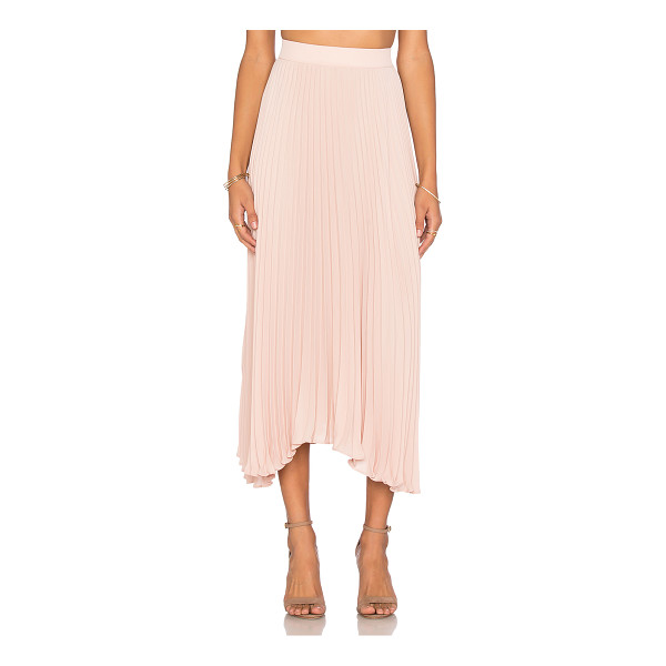 RAMY BROOK Lola skirt - 100% poly. Dry clean only. Unlined. Elasticized waist....