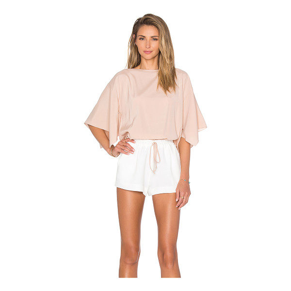 RAMY BROOK Roy romper - Self: 95% poly 5% spandexContrast: 100% poly. Dry clean...