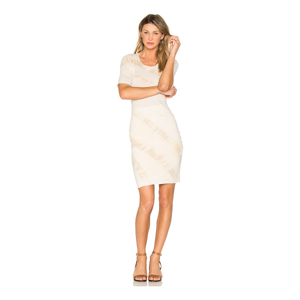 RAQUEL ALLEGRA Signature Fitted Dress - 50% cotton 50% poly. Hand wash warm. Fully lined....