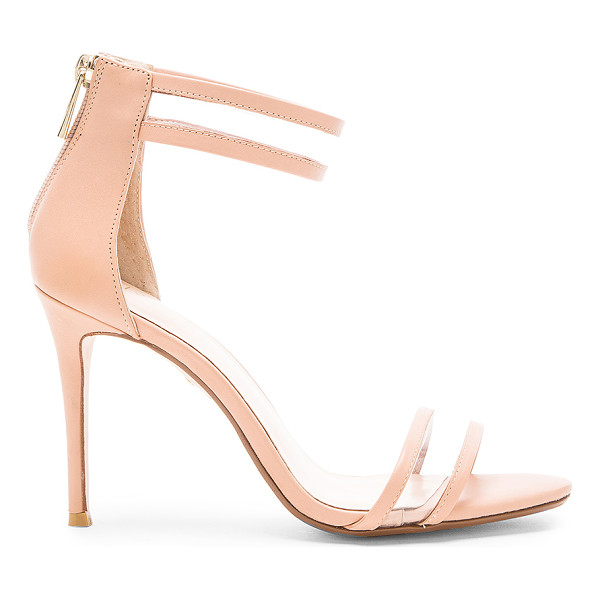 """RAYE Bettina heel - Leather upper with rubber sole. Heel measures approx 4"""""""" H...."""