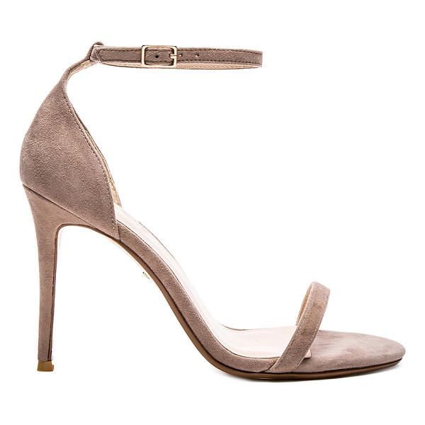 """RAYE Blake Heel - """"Suede upper with man made sole. Ankle strap with buckle..."""