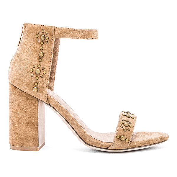 RAYE Lois heel - Suede upper with man made sole. Back zip closure. Raised...
