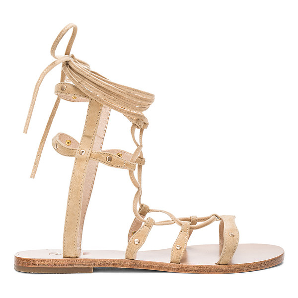 RAYE Sage Sandal - All laced up in the details. RAYE?s Sage Sandals feature a