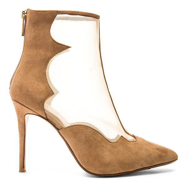 RAYE Taite bootie - Mesh and suede upper with man made sole. Back zip closure....