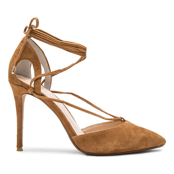 RAYE Tamrin Pump - Classic pumps with a new lace-up detail define RAYE's