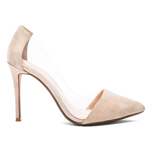 RAYE Terry pump - Suede and vinyl upper with man made sole. Heel measures...